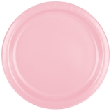 Classic Pink Party Paper Plates