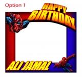 Spiderman Frame Medium Size