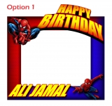 Spiderman Frame Small Size