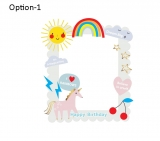 Unicorn Theme Frame Small Size