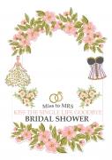 Bridal Shower Frame x-Large Size