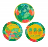 Floral Fiesta Tropical Small Paper Plates