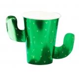 Viva La Fiesta Foiled Cactus Cups