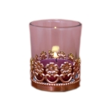 Boudoir Copper Tealight Holder