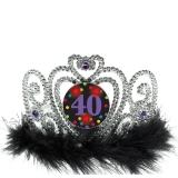 40Th Birthday Flashing Tiara