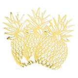 Modern Metallics Pineapple Shaped Napkin