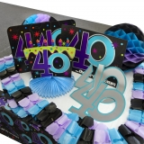The Party Continuous 40th Birthday Decorating Kit