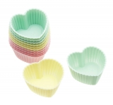 Heart Shaped Cupcake Cases
