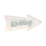 Light Up Wedding Sign