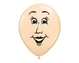 Peach Blush Female Face Balloon One Piece