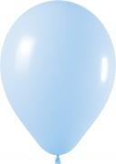 Satin Pearl Blue Latex Balloon