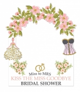 Bridal Shower Frame Small Size