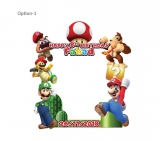 Super Mario Frame Small Size