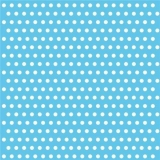 Light Blue Polka Dot Flair Lunch Napkin