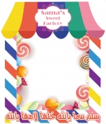 Candy Theme Medium Frame