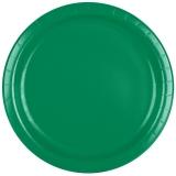 Emerald Green Dinner Paper Plate