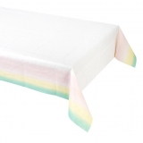 Pastel Paper Table Cover