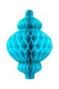Lantern honeycomb turquoise