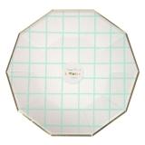 Mint Grid Plates