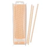 Mix & Match Peach Paper Straws