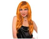 Glamorous Orange Wig
