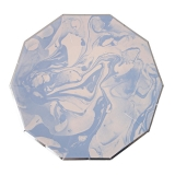 Marble Blue Pattern Large Plates