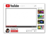 Youtube Frame Small Size