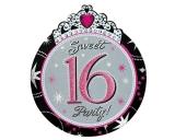Sweet 16 Sparkle Invitation Card