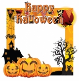 Halloween Frame 2 Small Size