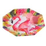 Flamingo Fun Paper Plates