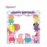 Peppa Pig Happy Birthday Frame Medium Size