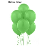 50 Helium Pastel Green Latex Balloons