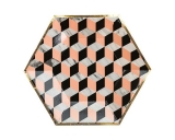 Vanity -Louis Cube Small Paper Plates