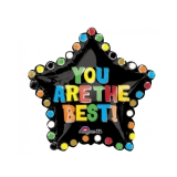 You Are The Best Star Foil Balloon