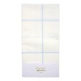 Blue Grid Table Cloth