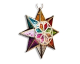 Moroccan Star Glass Lantern