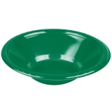 Emerald Green Heavy Duty Plastic Bowls