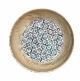 Moroccan Inspired Mango Wood Bowl