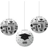 Congrats Grad Printed Lanterns