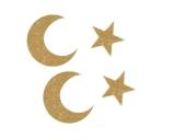 Crescent Medallion Dangler