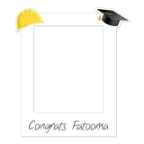 Graduation Frame 1 Small Size