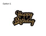 Happy Birthday Custom Photo Booth Props