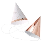 Pick and Mix Rose Gold Party Hats