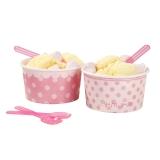Pink N Mix Bowl & Spoons