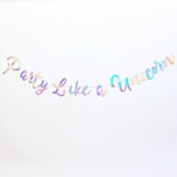 Party Like a Unicorn Bunting