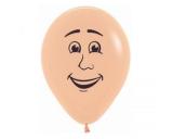 Peach Blush Male Face Balloon One Piece
