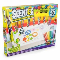 Scentos 50 Pc Coloring Workstation